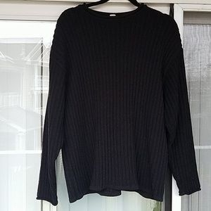 PATAGONIA black knit sweater